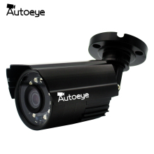 Autoeye H.264 700P HD 48V POE Camera Security Video Surveillance IP Camera 720P Waterproof Metal Bullet Camera 30M Night Vision