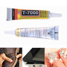 15ml T-7000 More Powerful Epoxy Resin Adhesive T7000 Black Liquid Glue Super Sealant Handset Touch Screen Rack Maintenance(China)