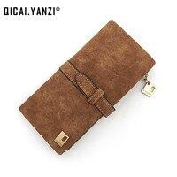 2015 Brand 6Colors Fashion Lady Bags Women Wallets PU Handbags Leather Purse Long Popular Card Holder