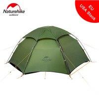 Naturehike открытый непромокаемые палатки кемпинга Сверхлегкий 2 Человек Палатка с шестигранной ветрозащитный Водонепроницаемый Пеший Туризм