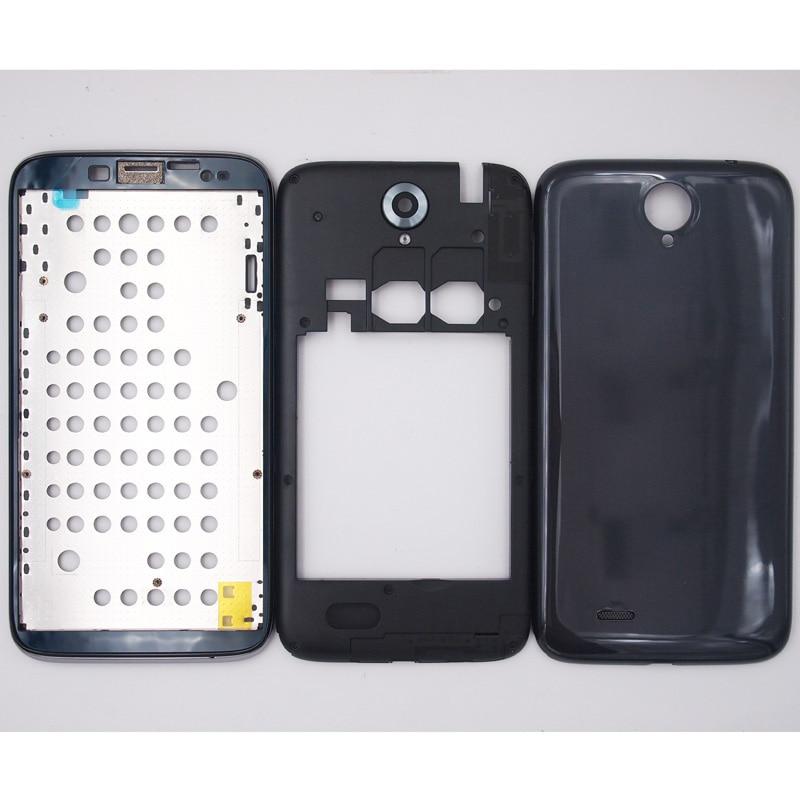 bilder für BaanSam Neue LCD Vordere Frame Mittleren Rahmen Batterie Rückseitige Abdeckung Für Lenovo A850 5,5 Zoll Gehäuse Mit Kamera Objektiv + antenne