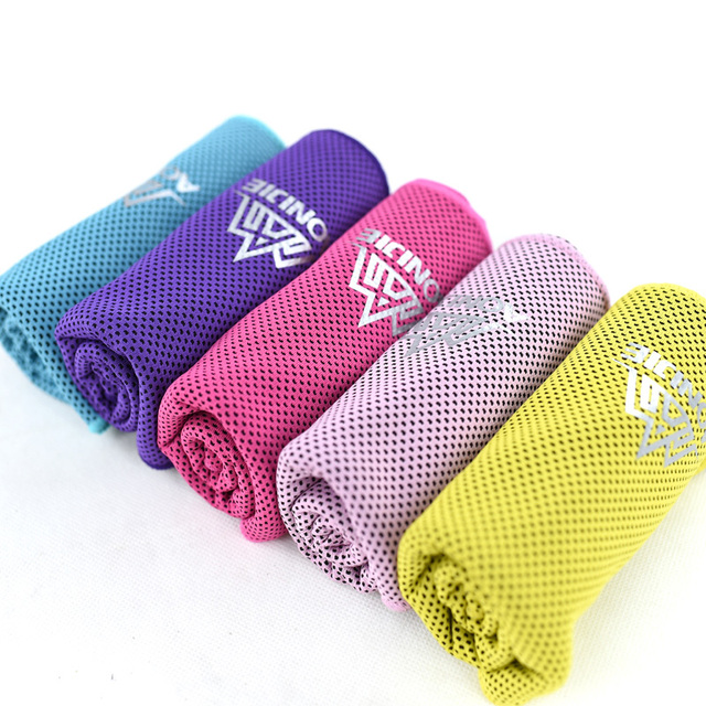 AONIJIE 4041 Instant Cooling Towel Quick Drying Mesh Beach Fitness Gym Yoga Running Camping Absorbent Chilly Swimming Towel