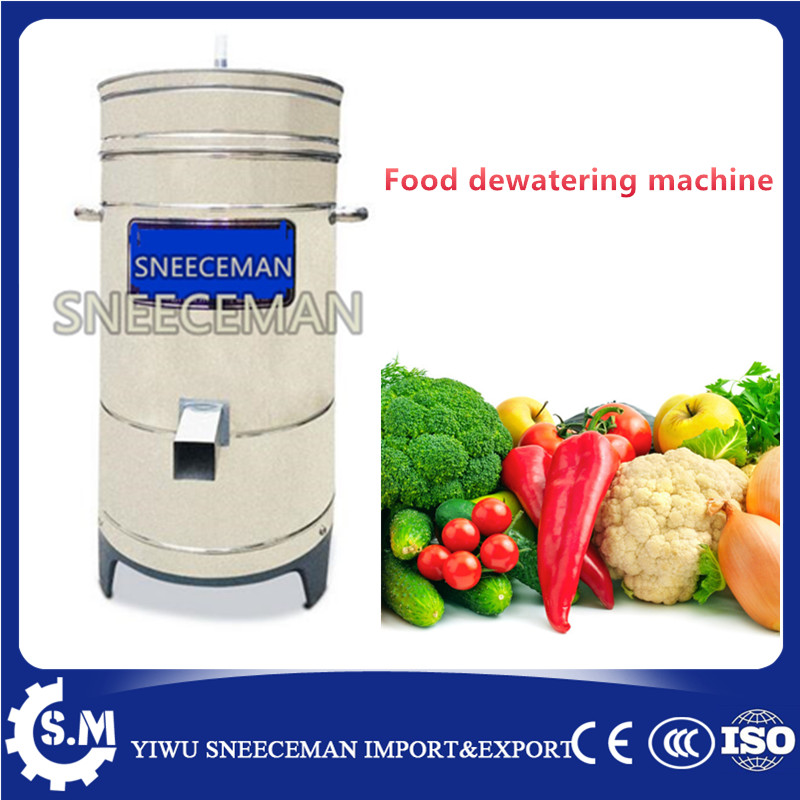 Stainless steel dewatering machine commercial food dehydration machine 6kg capacity fast food leisure fast food equipment stainless steel gas fryer 3l spanish churro maker machine