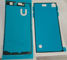 New Original Battery Back Cover and Front Adhesive Sticker For Sony Xperia Z1S Tape Waterproof Glue Free Shipping