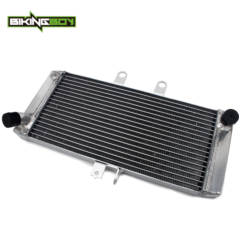 BIKINGBOY For Suzuki <font><b>GSF</b></font> <font><b>650</b></font> Bandit 2007-2013 Replace OEM 17710-17H10 Aluminum Cores Engine Water Cooling Cooler Radiator image