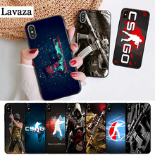 Lavaza Counter Strike CS and PUBG Silicone Case for iPhone 5 5S 6 6S Plus 7 8 11 Pro X XS Max XR