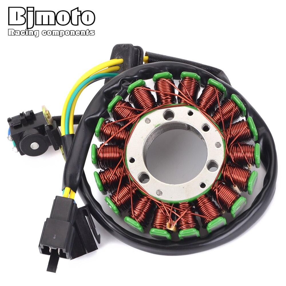 1 pièces Moto 3210105300 Générateur de magnéto Stator Bobine Pour Suzuki GN125 1982-2001 GS125 1982-1994 TU125 1999