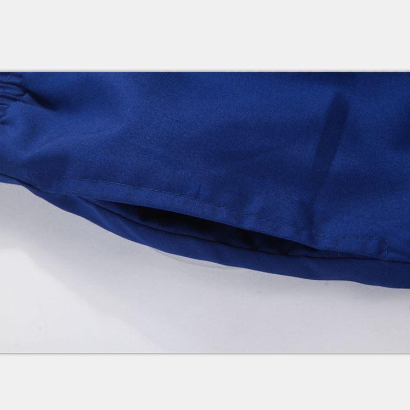 2018 Men Shorts Swimwear Swimsuit Boxer Man Bathing Suit Swimming Trunks Beach Wear Drawstring Body Suit Beachwear Black Blue