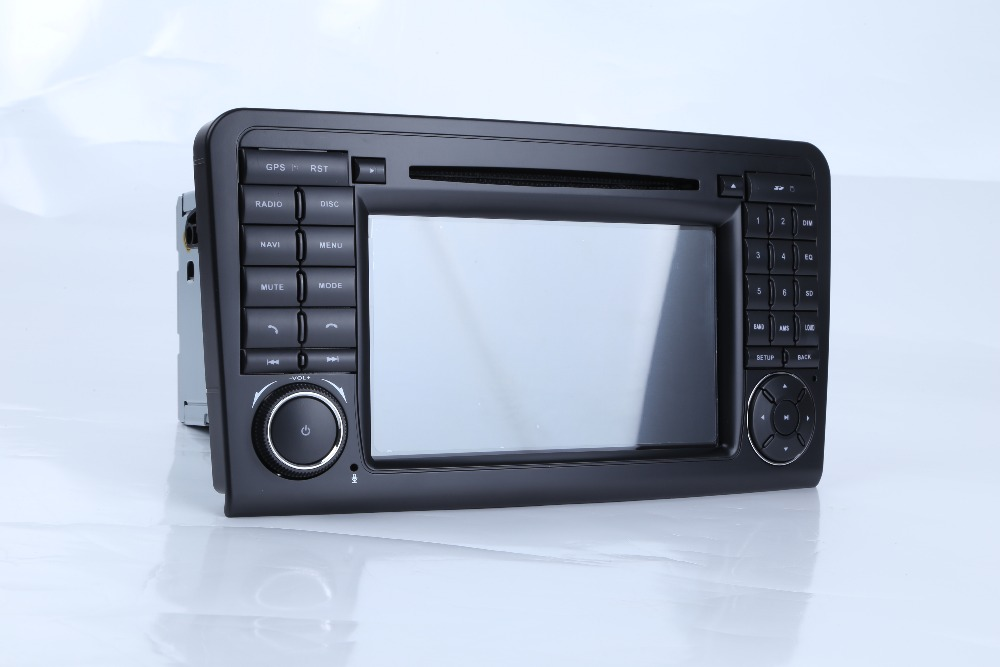 Android 9 0 1 Two Din 7 Inch Car DVD Player For Mercedes Benz GL ML CLASS W164 X164 ML350 ML450 GL320 GL450 Wifi GPS BT Radio in Car Multimedia Player from Automobiles Motorcycles