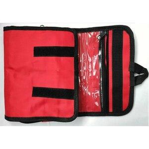 Image 3 - 접이식 방수 휴대용 야외 자동차 응급 처치 키트 여행 또는 캠핑에 응급 처리를위한 접을 수있는 고용량 가방