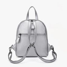 Stylish Small Waterproof Leather Women's Backpack