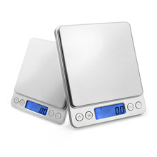 ACCT 2000*0.1g Portable Mini Electronic Digital Scales Postal Kitchen Jewelry Balance Musculation Joyeria Balanca Weight Scale acct 2000g x 0 1g mini weight scale portable electronic digital scale pocket kitchen jewelry high accuracy balance silver tools