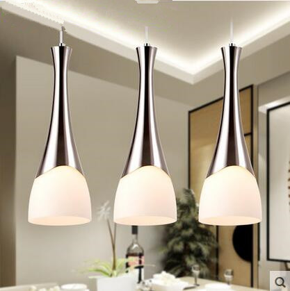 2019LED Three light Used for dining room of Europe type restoring ancient ways is the bar 11w   15w meals chandeliers 110v 220v-in Pendant Lights from Lights & Lighting on Ali Quality first store Store