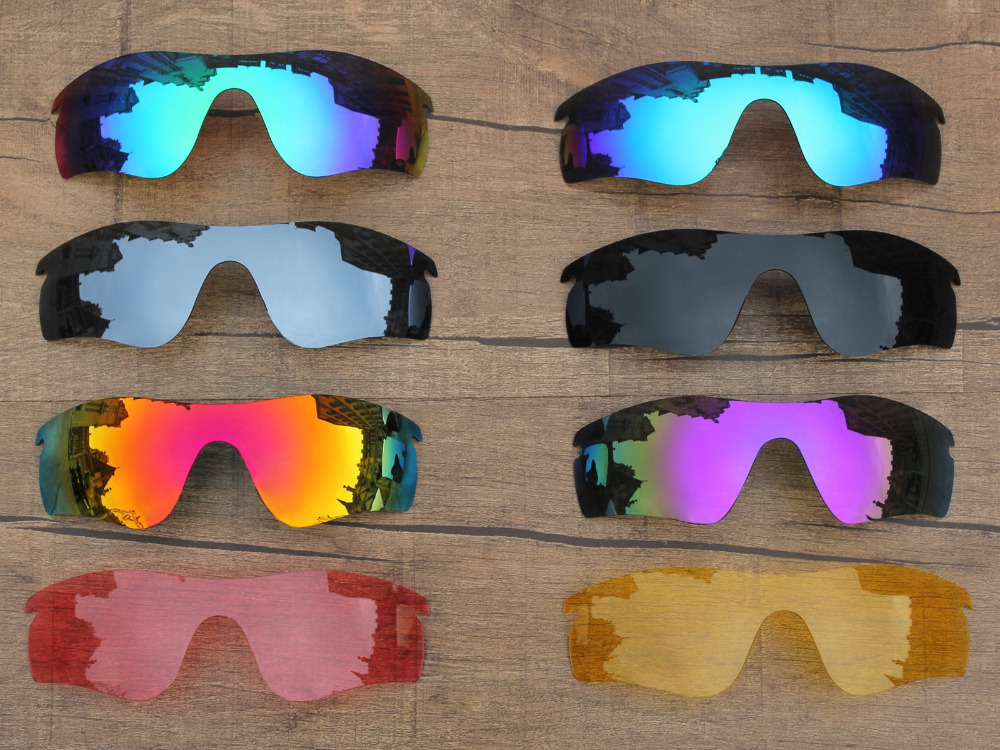 c82ab2333b7e6 PapaViva POLARIZADA Lentes de Substituição para o Caminho RadarLock Óculos  De Sol 100% Proteção UVA   UVB Várias Opções em Óculos de sol de Acessórios  de ...
