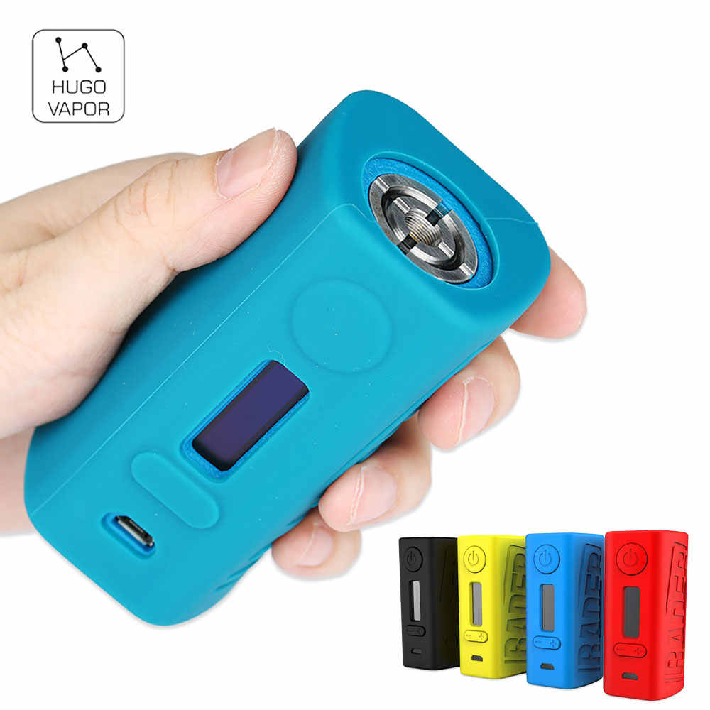 Original Hugo Vapor Boxer Rader V2 211W Box MOD with Max 211W Output & Curve Heating Function E-cig Vape Mod No Battery Included