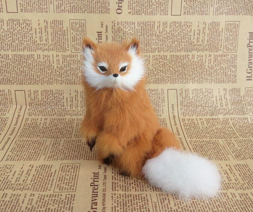 Cos příslušenství simulace kožešiny zvířecí liška liška domácí bytové doplňky Fotografie rekvizity model
