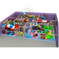 Гигант площадка аттракционов для парков, крытая площадка оборудование, дети лабиринт YLW IN1598
