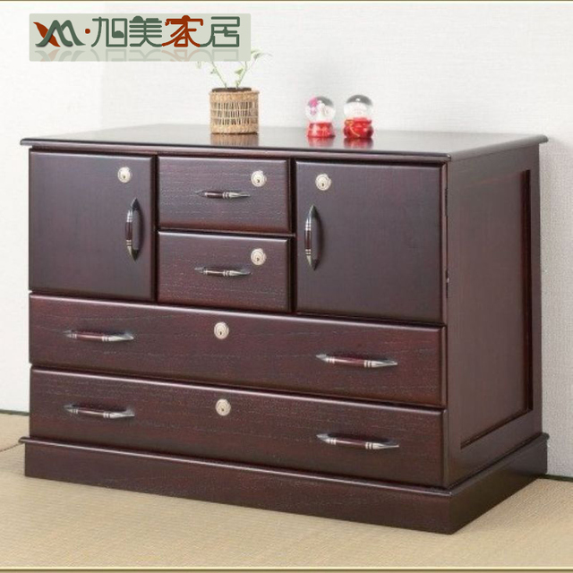 Merveilleux Xu Mei Wood File Cabinet Versatile Small Cabinets Lockable Drawers Cabinet  Floor Cabinet A4 Paper Specials