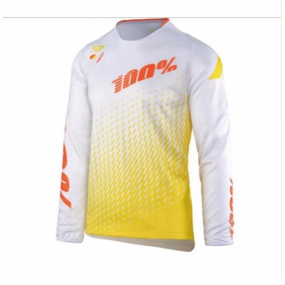 2018 New Enduro Unisex Jeresy Downhill Jersey MTB Offroad long motorcycle long motocross Racing Riding Cycling Jersey XXS TO 5XL