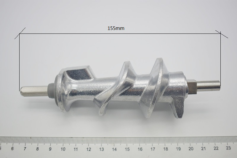 цена на 2 piece Free shipping include 1 Meat Grinder Screw and 1 blades Mincer Auger for Moulinex meat grinder parts