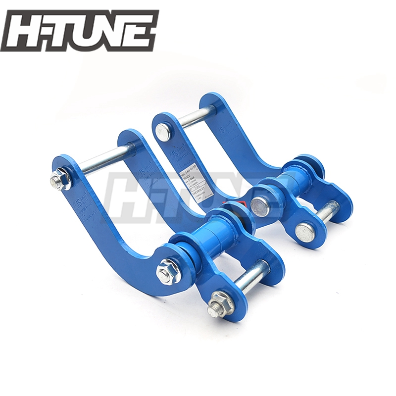 H-TUNE 4x4 Accesorios Rear Leaf Spring Suspension Comfort Double G-Shackles Kits For New D-MAX 2012+/Colorado 2012+