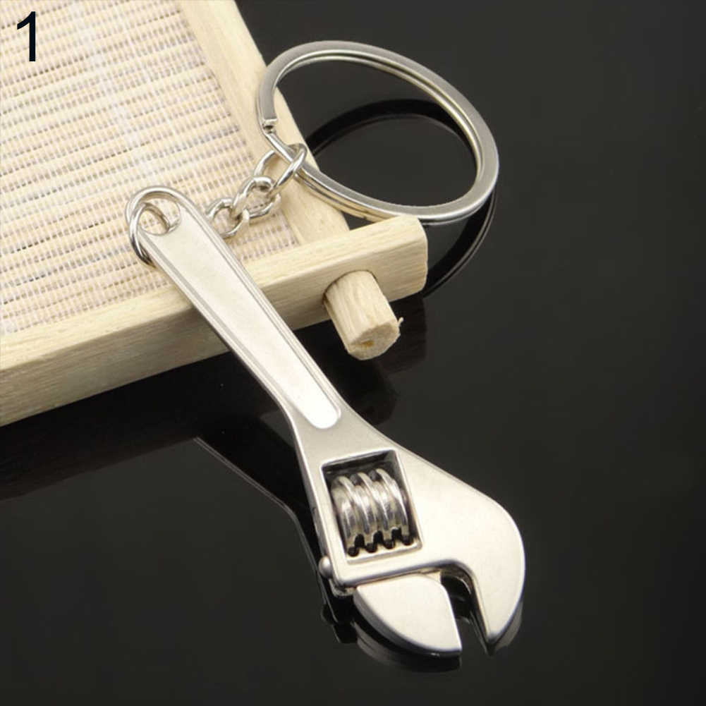 2017 ประดิษฐ์ประแจกุญแจพวงกุญแจโลหะพวงกุญแจของขวัญพวงกุญแจพวงกุญแจเครื่องประดับของขวัญเครื่องประดับที่ดี