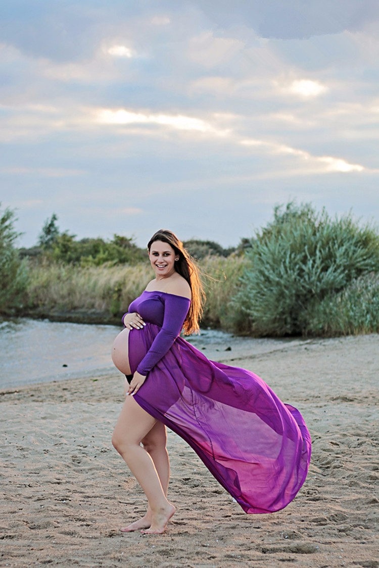 Photography pregnant women miriam gown long sleeve maternity gown photography pregnant women miriam gown long sleeve maternity gown off the shoulder dress gown soft knit in dresses from mother kids on aliexpress ombrellifo Choice Image
