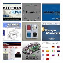 truck and car repair software alldata 10.53+mitchell ondemand+elsawin+moto heavy truck+vivid workshop full set 1tb hdd