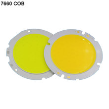 Sumbulbs DC Chip On Board 10W 20W 30W 50W 200W Round COB LED Light Source Super Bright 3000K 4000K 6000K White LED Bulb Lamp DIY