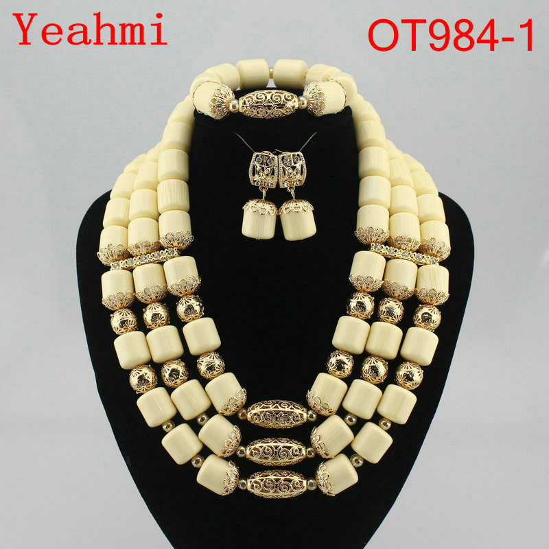 Fashion Jewelry Sets African Beads Jewelry Set Nigerian Wedding African Beads Necklace Set African Jewelry Set OT984-1 african symbolism