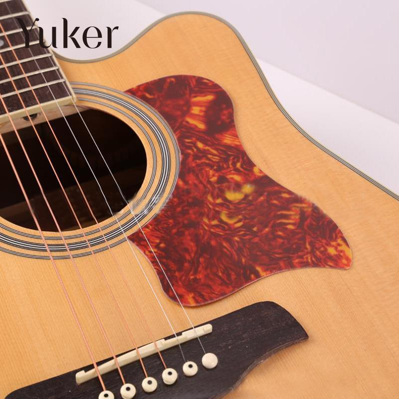 Yuker Acoustic Electric Guitar Sound Hole Cover Block Guard Musical Instruments Parts