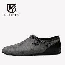 RELIKEY Brand Flock Soft font b Fashion b font Moccasins font b Shoes b font For