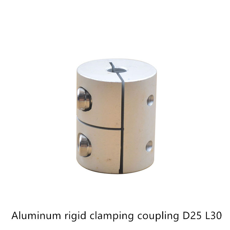 D25L30 5/6/6.35/8/10/12mm Aluminum Flexible Shaft Coupler clamping Rigid Coupling Motor Connector D25 L30 image