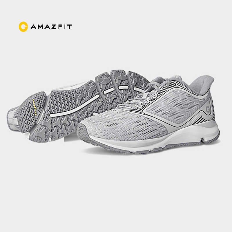 Original Xiaomi Amazfit Antelope Light Smart Shoes Outdoor Sports Goodyear Rubber Support Smart Chip Better Than Xiaomi Mijia 2