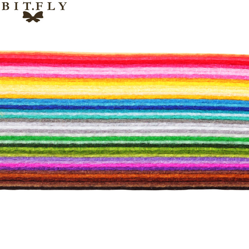 ALI shop ...  ... 32770502360 ... 3 ... High Quality Mix Colors Non Woven Felt Fabric 1mm Thickness Polyester Cloth Felts DIY Bundle For Sewing Dolls Crafts Free ship ...