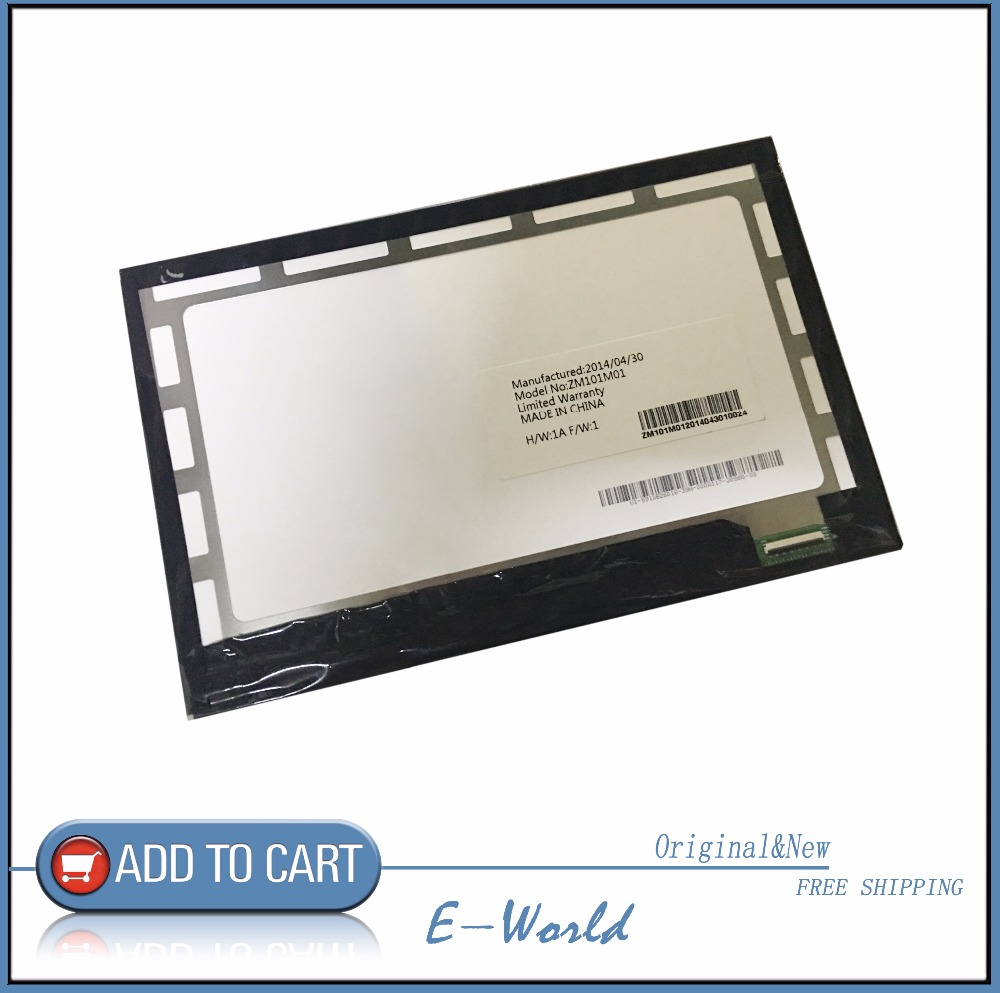 Original 10.1inch LCD screen ZM101M01 for tablet pc free shipping free shipping original 9 inch lcd screen cable numbers kr090lb3s 1030300647 40pin