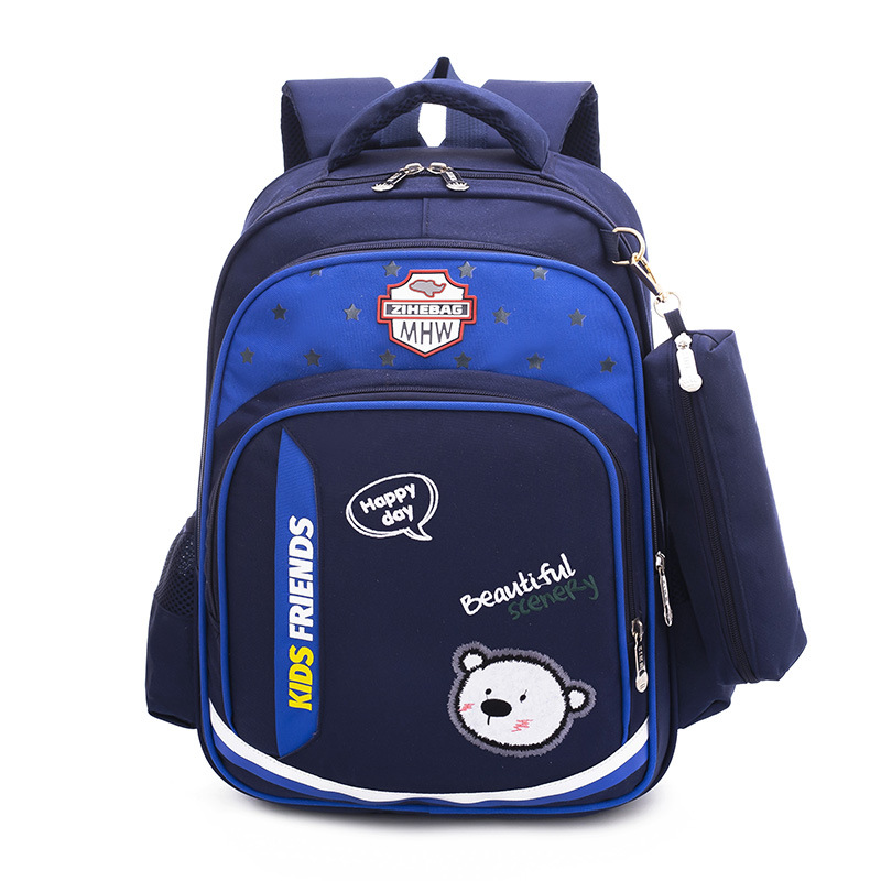 2019 boys School Bags Children school Backpack Primary Bookbag Orthopedic girls Schoolbags Mochila Infantil sac a dos enfant(China)
