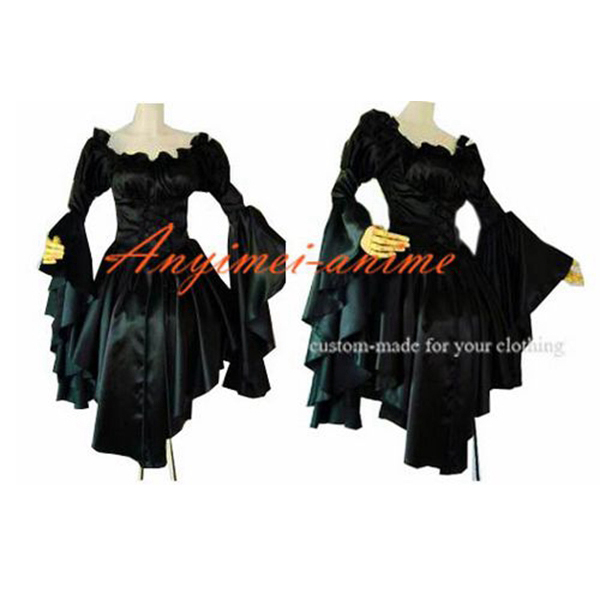 Gothic Lolita Punk Gown Ball Evening Dress Cosplay Costume Tailor made[CK1169]