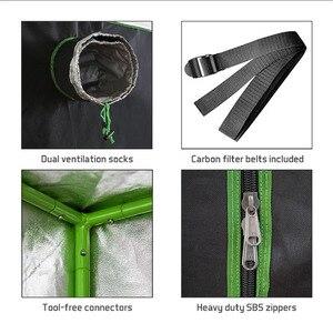 Image 5 - Crescere tenda per la coltura idroponica dellinterno serra impianto di illuminazione Tende 240*120*200 centimetri Crescere tenda crescere box