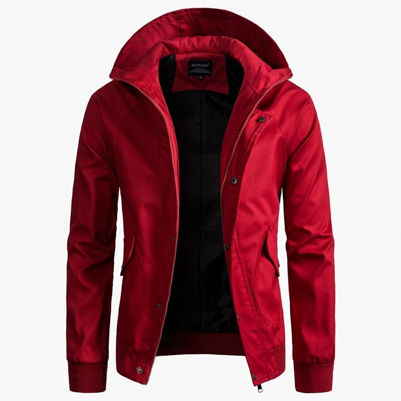 Jackets 2019 Latest Design M-5xl 2019 New Fashion Autumn Mens Jackets Male Casual Slim Stand Collar Bomber Jacket Men Outerdoor Overcoat Windbreaker Always Buy Good