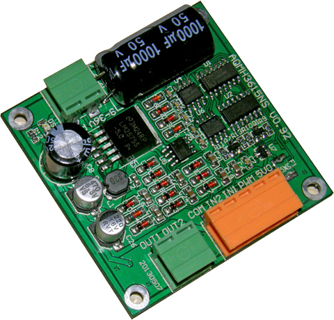 12/24/36V 15A high-power DC motor drive board / module is reversible, can be full PWM