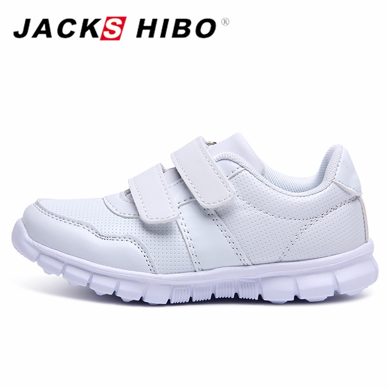 JACKSHIBO Autumn Winter Kid Sneaker Anti-slippery Toddler Kids Casual Shoes Childrens Sneakers School Student Shoes for boys