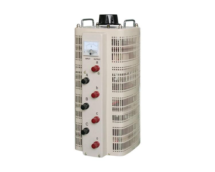 Three phase small volume light weight high efficiency tsgc manual voltage regulator