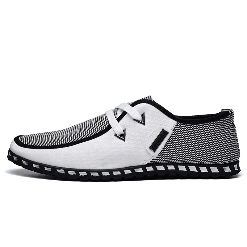 Summer Loafers Men Casual Shoes Fashion Slip On Sneakers Men Flats Driving Shoes PLUS SIZE 38-47 Trainers Zapatos Hombre Casual 2