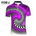 FORUDESIGNS 2017 новая мода высокого качества мужская с коротким рукавом полиэстер polo shirt, мужской комфортно классный дизайн polo рубашки мужчины