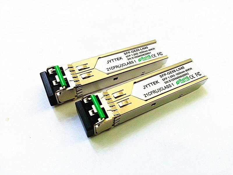 SFP приемопередатчик 10/100/1000 м двойное волокно 40 км LC 1550NM 1,25G SFP приемопередатчик SFP-1.25G-1550NM-40KM-LC DFP