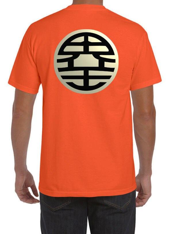 bddc35b8bbce Detail Feedback Questions about Dragon Ball Z King Kai DBZ Goku Supreme  Vegeta Anime Manga New Orange T Shirt Free shipping on Aliexpress.com
