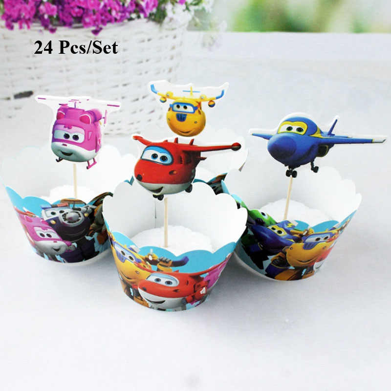 Trẻ em sinh nhật doraemon cake topper bánh trang trí trẻ em sinh nhật trang trí bên trẻ sơ sinh mèo cupcake wrapper toppers