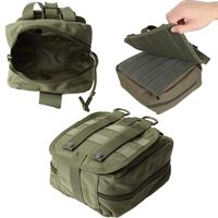 NEW Empty Bag Tactical Medical First Aid Utility Pouch Emergency Bag For Vest Belt Treatment Pack