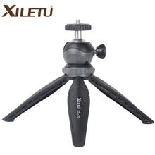 XILETU XS-20 Mini Compacta Tripé Leve Tripé com Bola De cabeça Destacável de 360 Graus de Rotação para Camera & Smartphone Q19825
